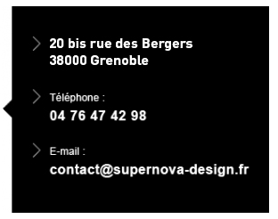 plan grenoble supernova graphisme communication